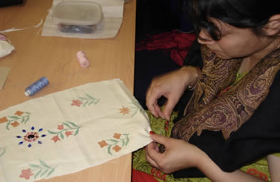 JAN Trust - Sewing and textiles Training
