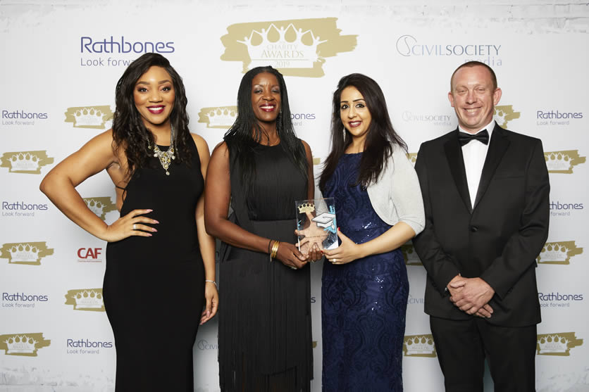 JAN Trust wins Education and Training Charity of the Year