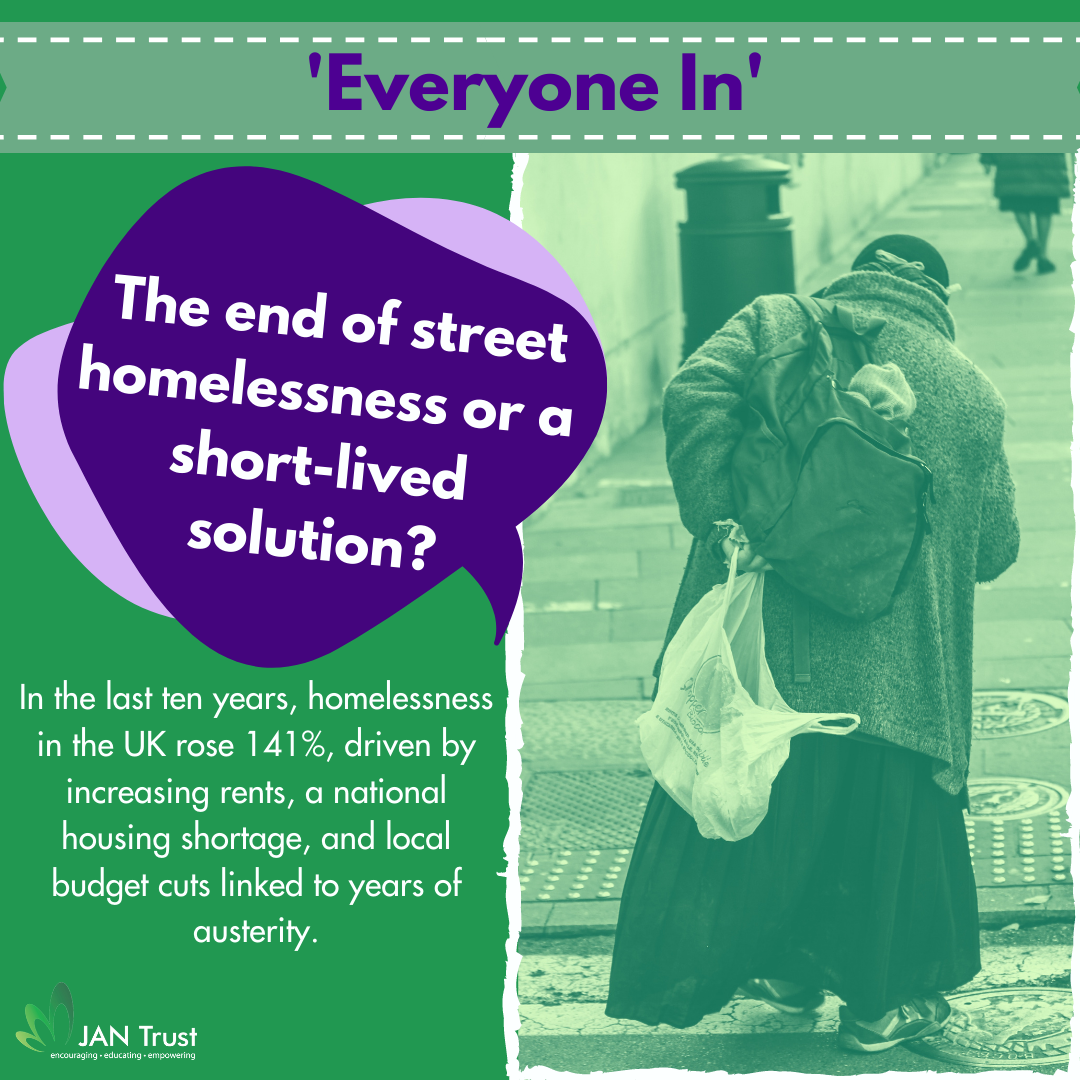 Everyone In: The end of street homelessness or a short-lived solution?