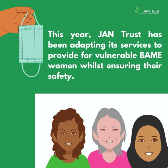 JAN Trust, a charity working during COVID-19