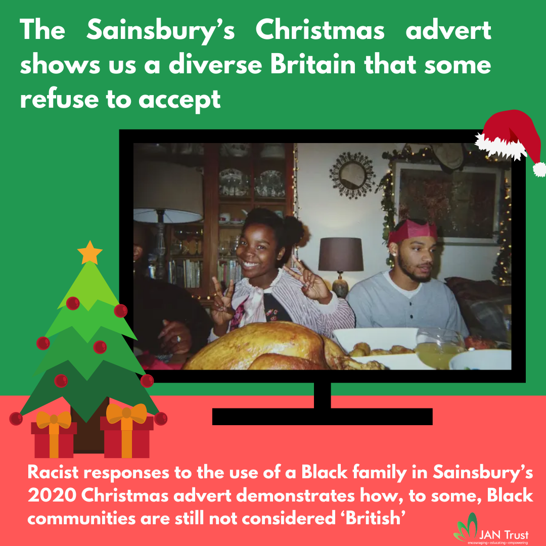 The Sainsbury's Christmas advert shows us a diverse Britain that some refuse to accept