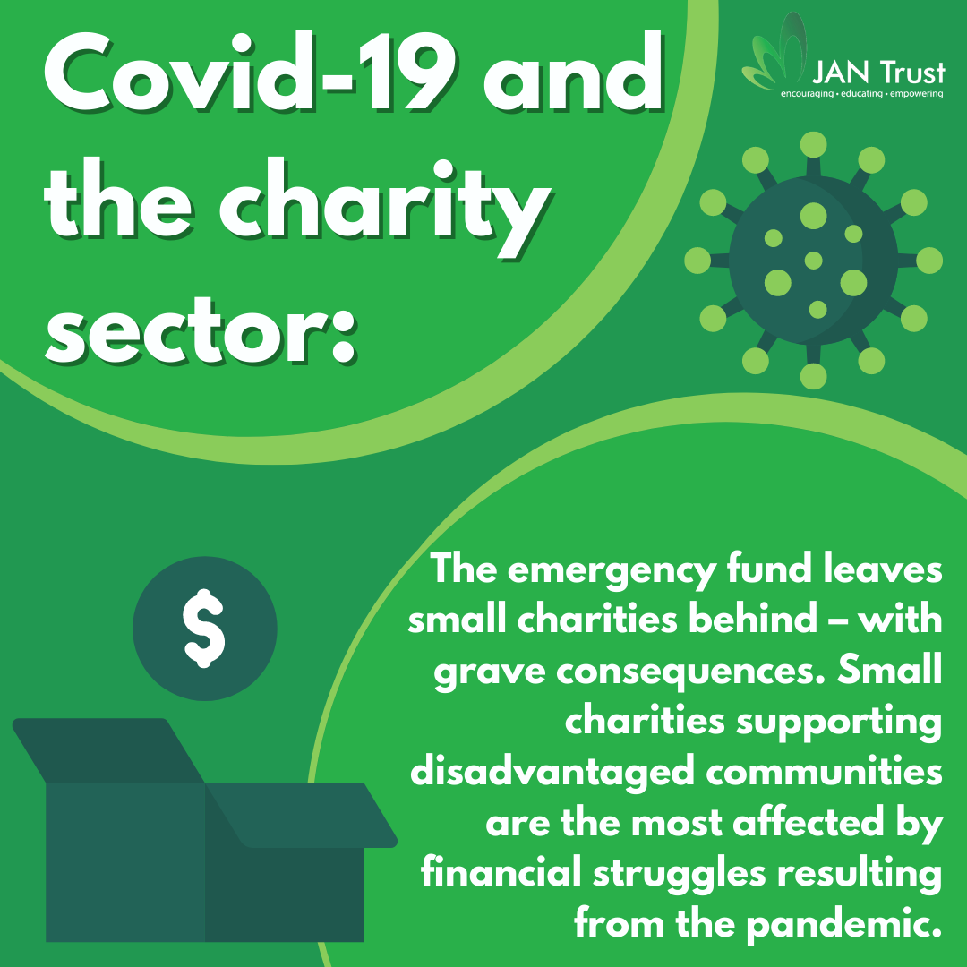 Emergency Covid-19 fund leaves small charities behind – with grave consequences