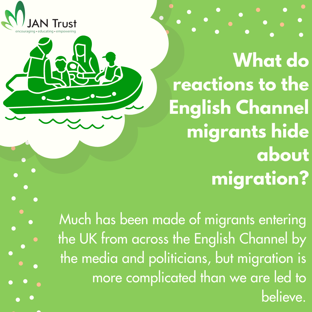 What do reactions to the English Channel migrants hide about migration?