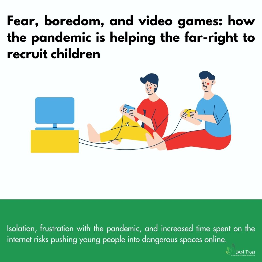 Fear, boredom, and video games: how the pandemic is helping the far-right to recruit children