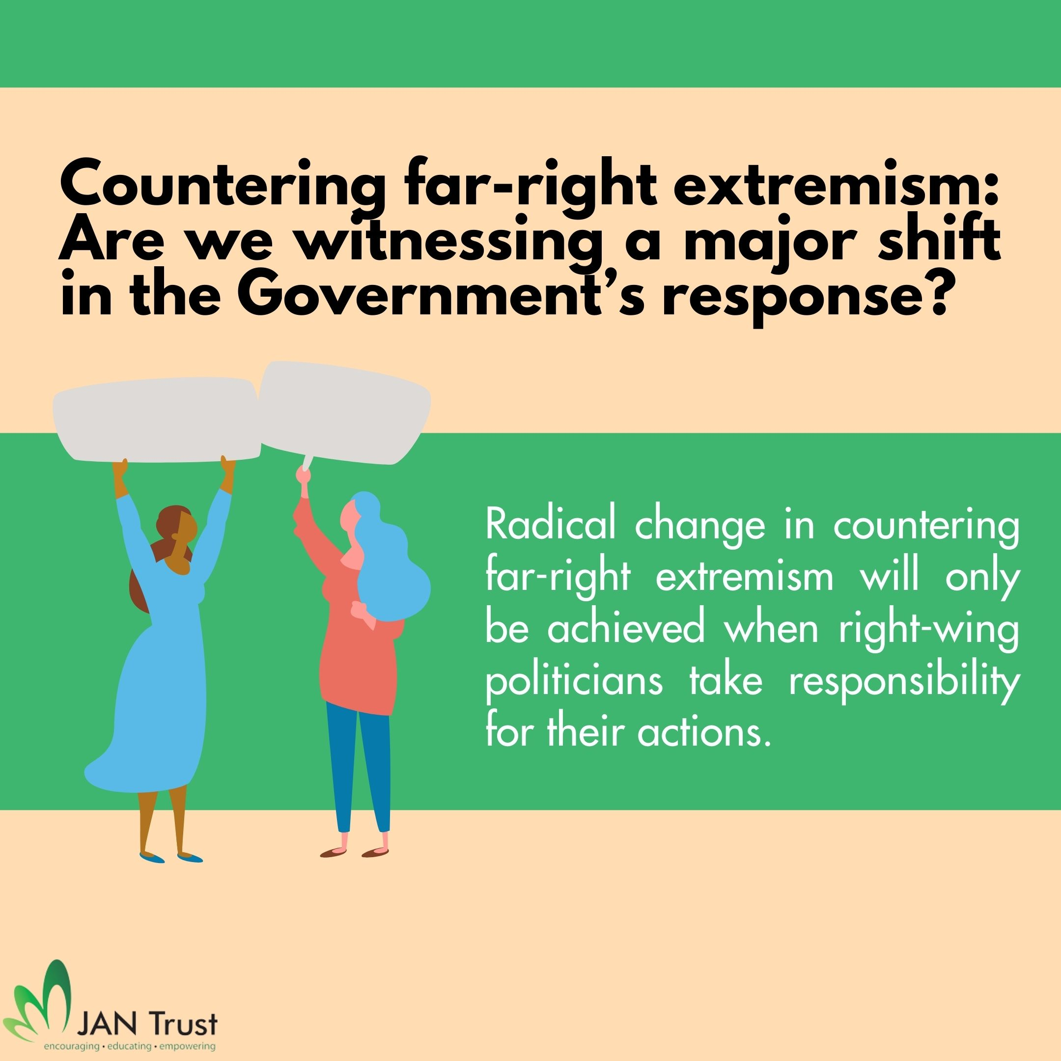Countering far-right extremism: Are we witnessing a major shift in the Government's response?