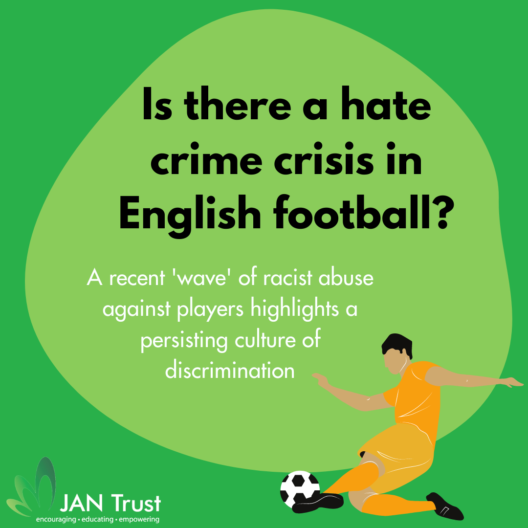 Is there a 'hate crime crisis' in English football?