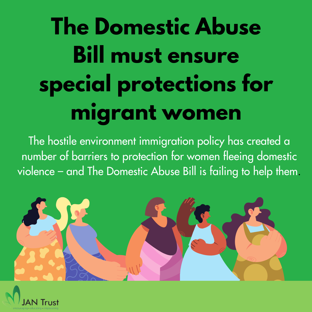 The Domestic Abuse Bill must ensure special protections for migrant women