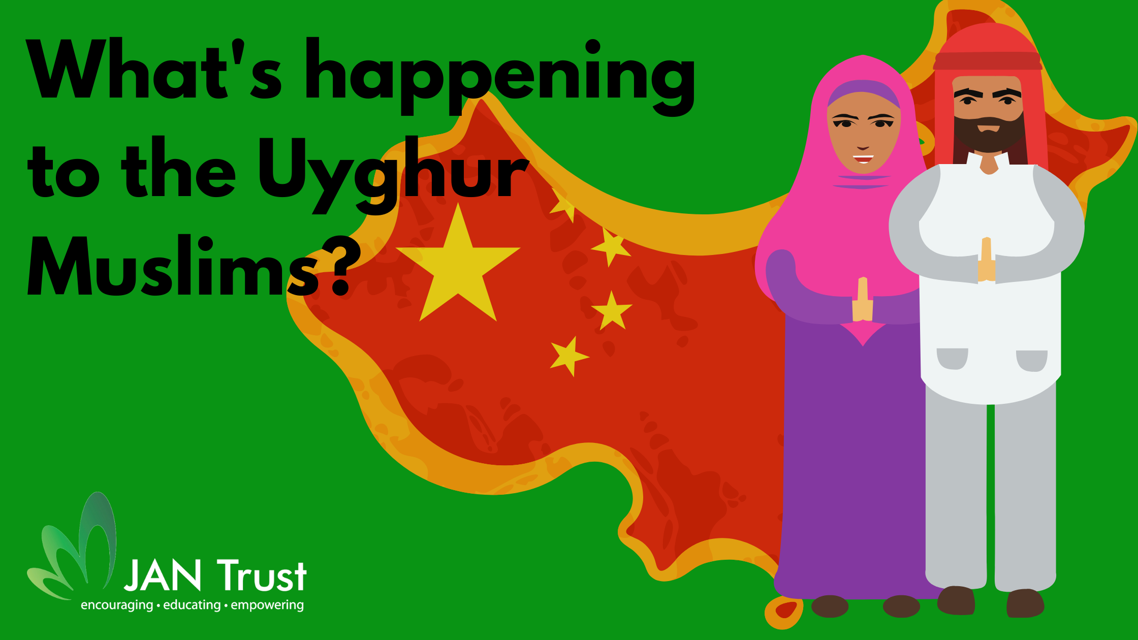 What's happening to the Uyghur Muslims?
