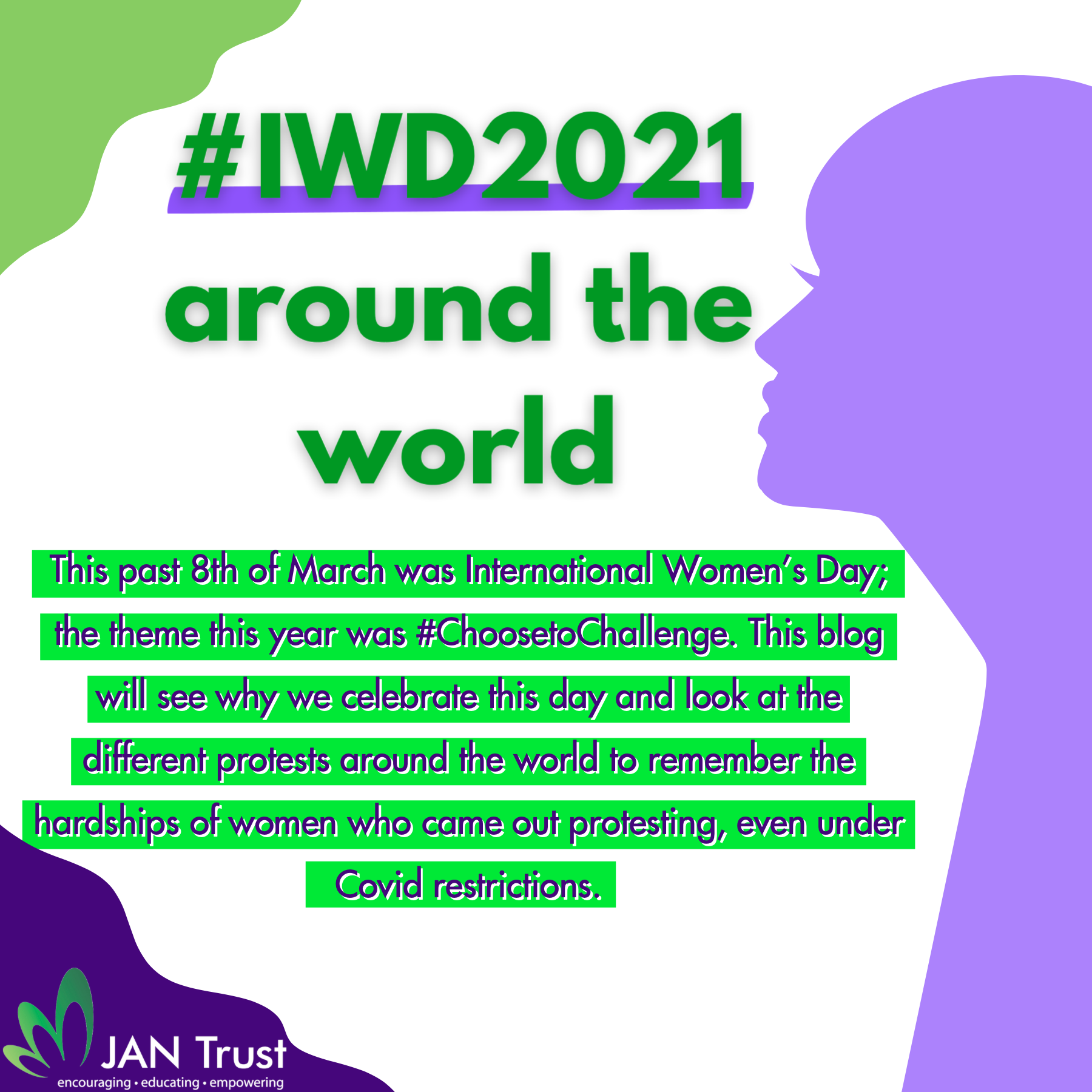 #IWD2021 around the world