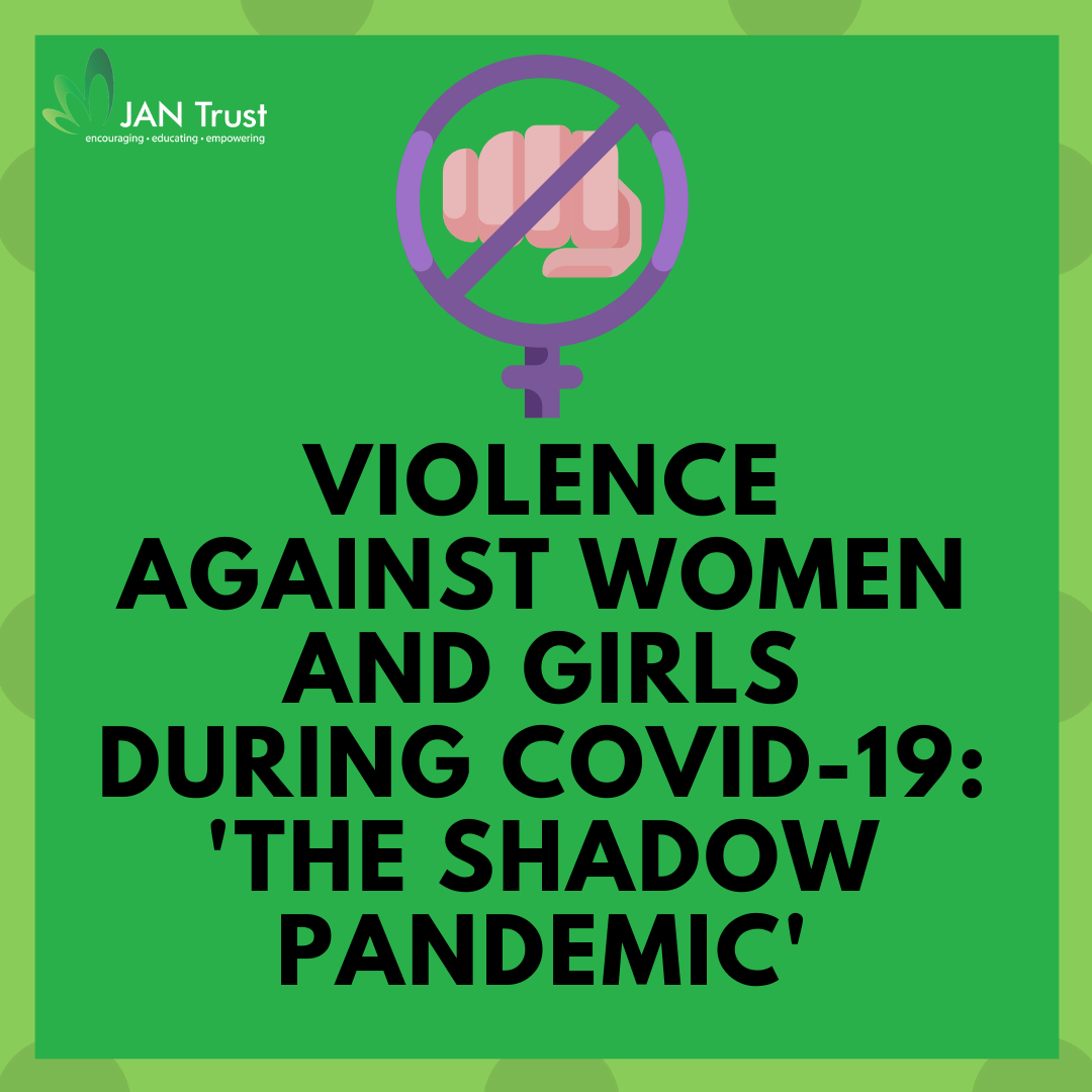 Violence against women and girls during Covid-19: 'the shadow pandemic'