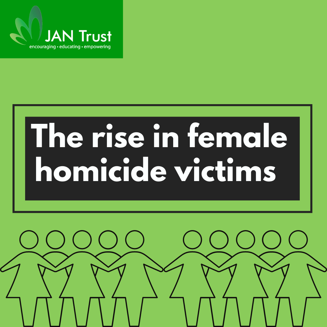 The rise in female homicide victims