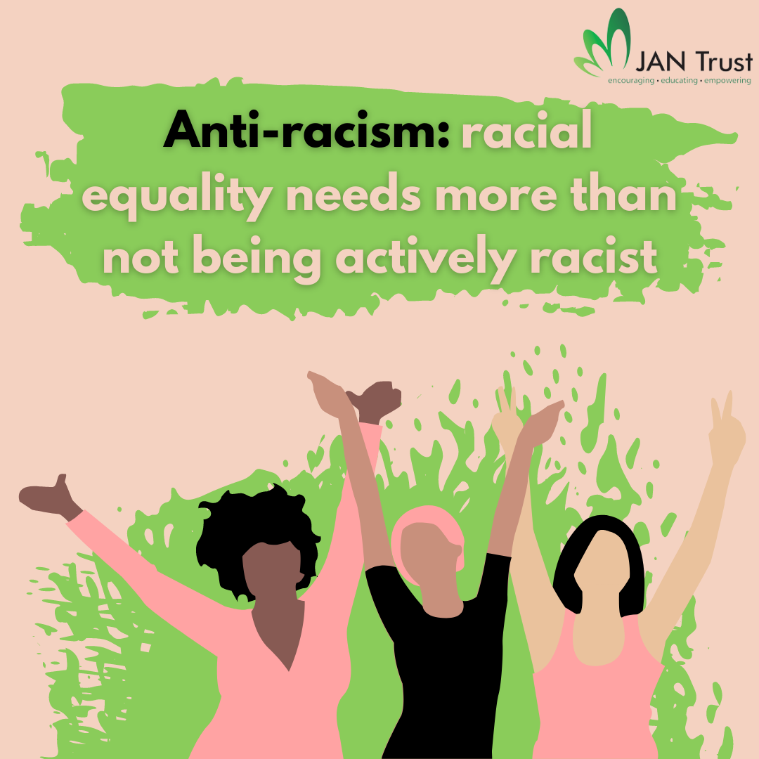 Anti-racism: racial equality needs more than not being actively racist