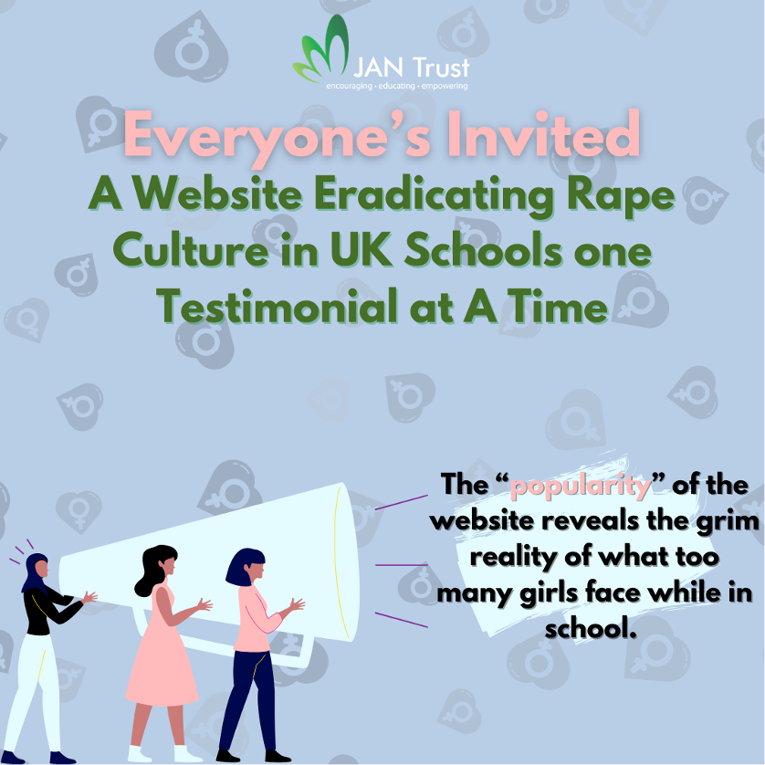 Everyone's Invited: A Website Eradicating Rape Culture in UK Schools One Testimonial at A Time