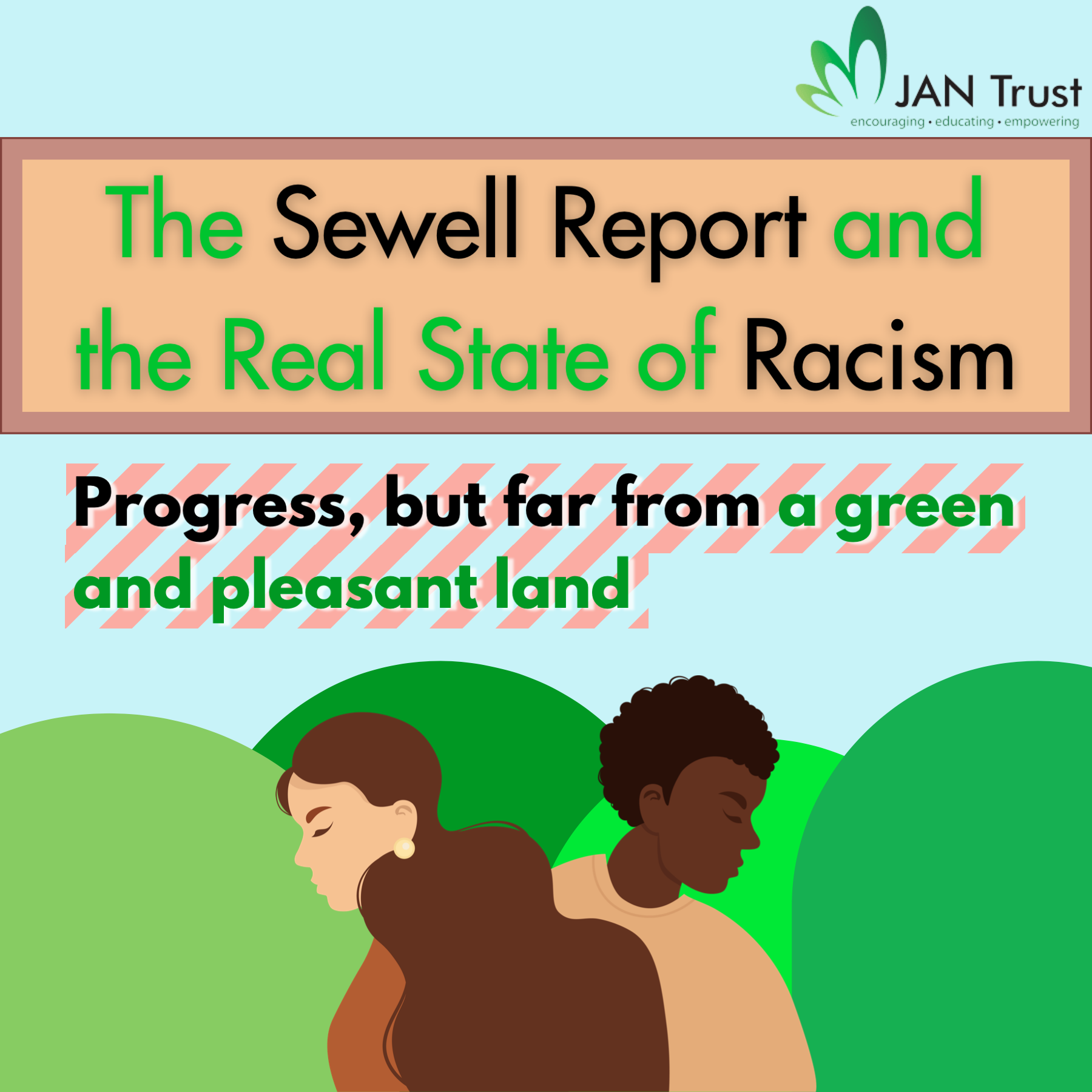 The Sewell report and the real state of racism: progress, but far from a green and pleasant land