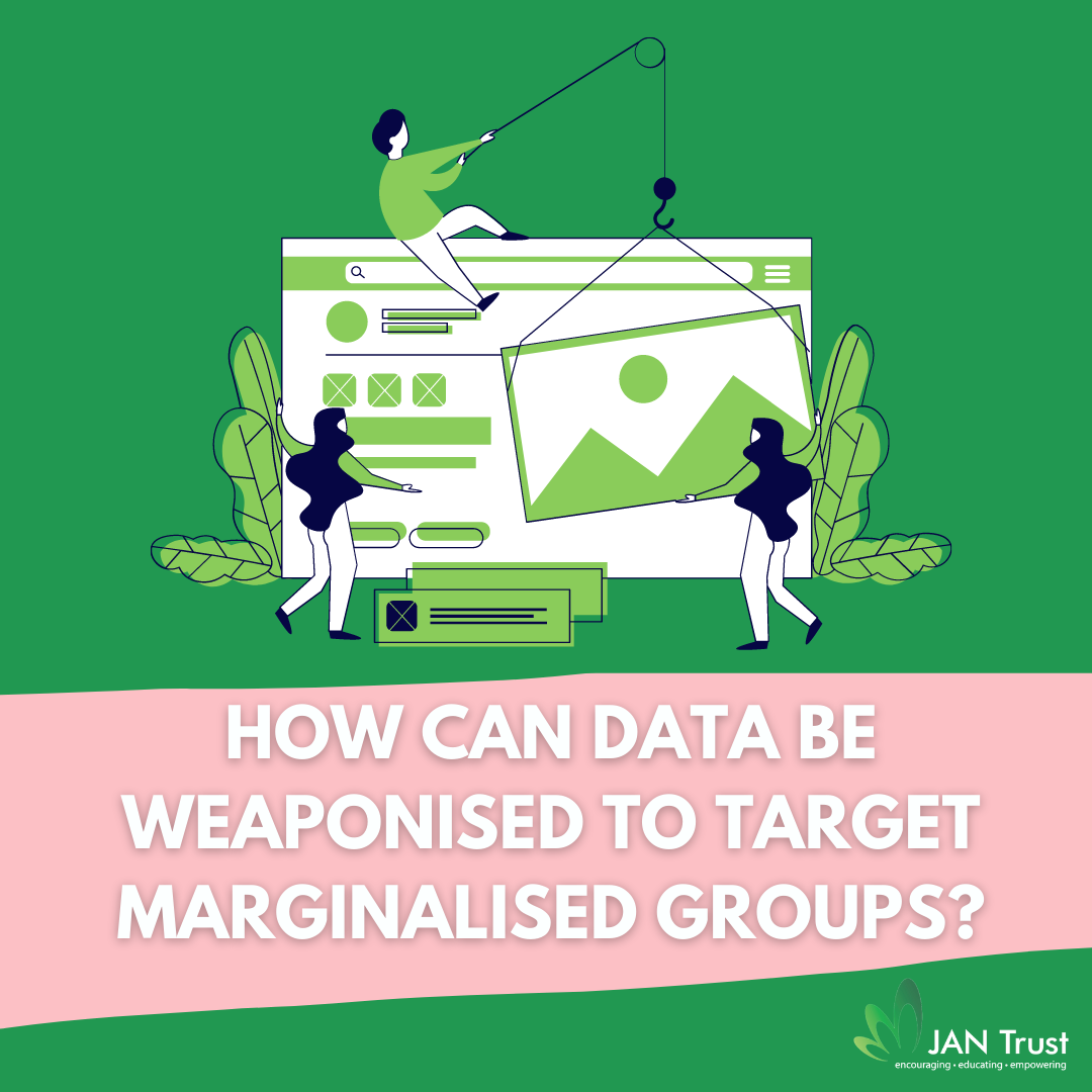 How can data be weaponised to target marginalised groups?