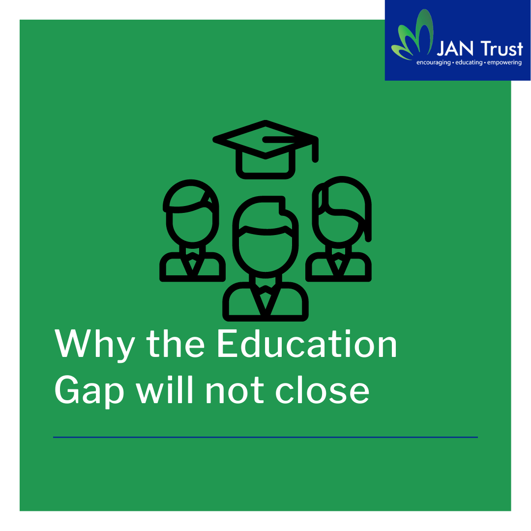 Why the education gap won't close