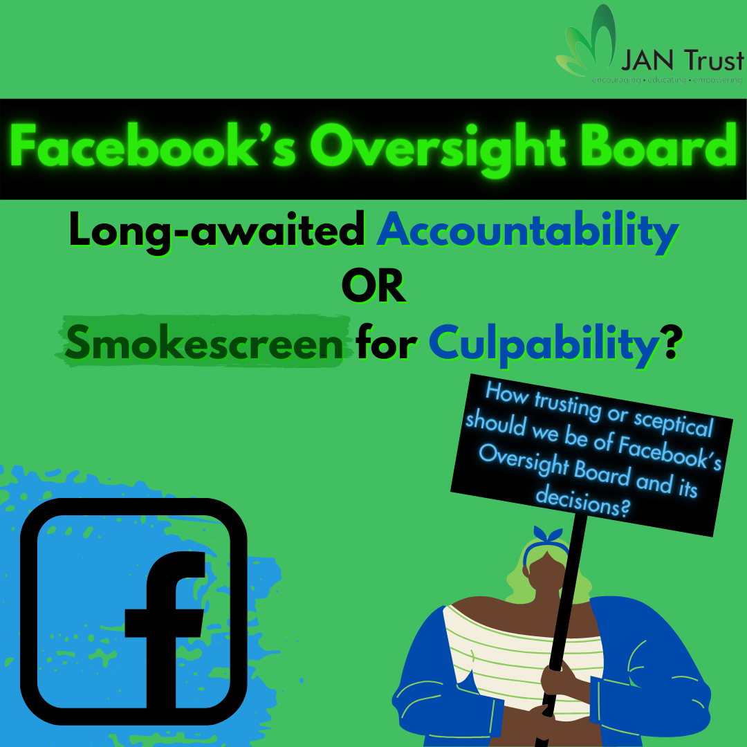 Facebook's Oversight Board: long-awaited accountability or smokescreen for culpability?