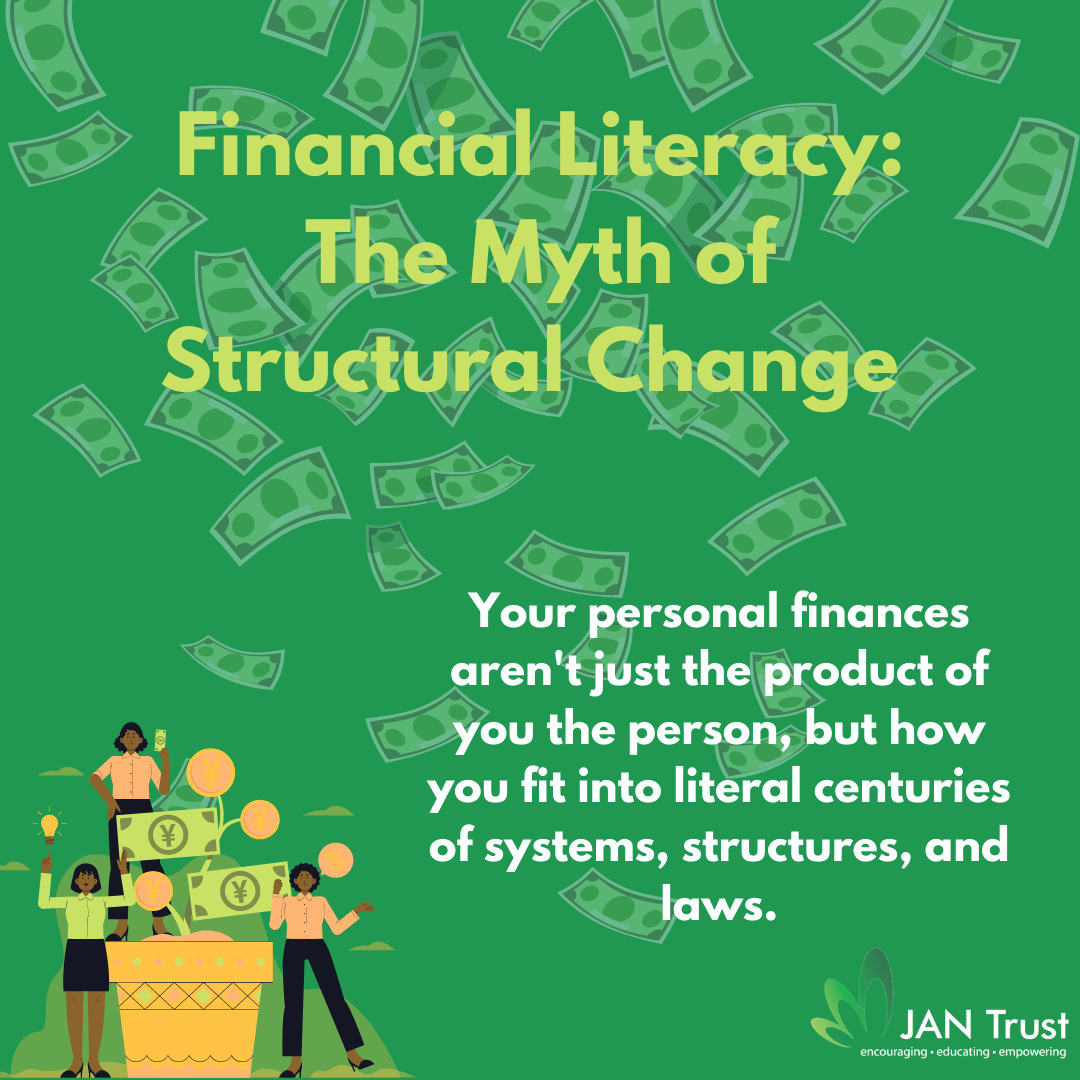 Financial Literacy: The Myth of Structural Change