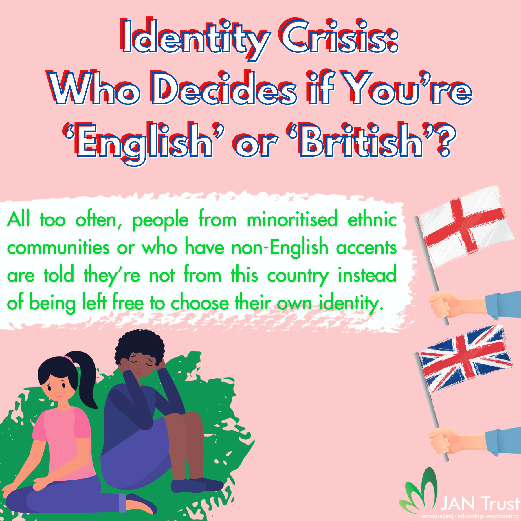 Identity crisis: who decides if you're 'English' or 'British'?