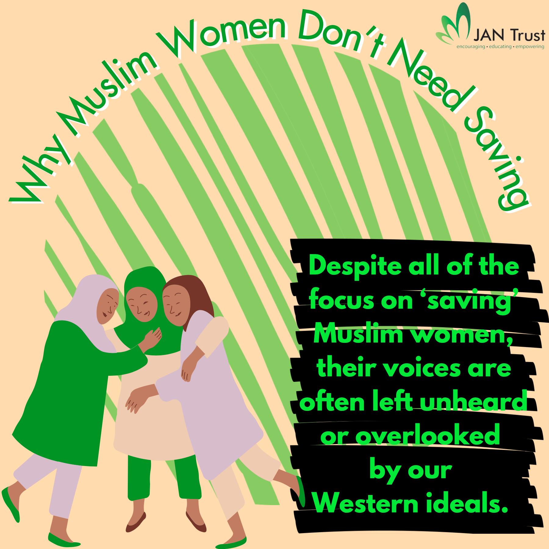 Why Muslim Women Don't Need Saving