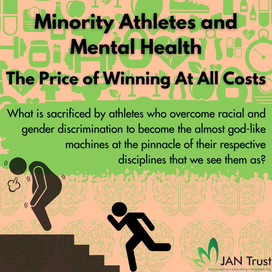 Minority athletes and mental health: the price of winning at all costs