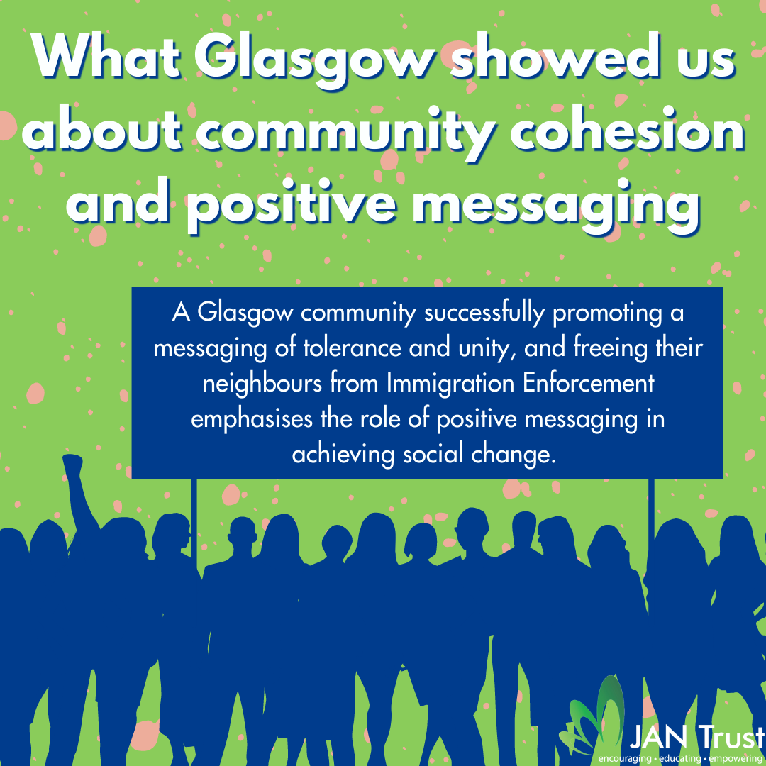 What Glasgow showed us about community cohesion and positive messaging
