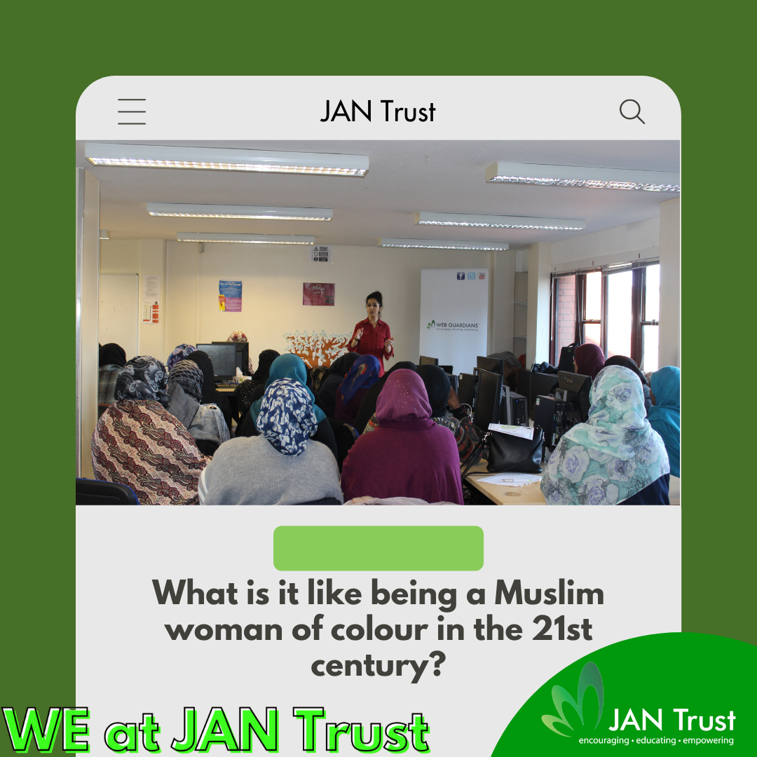What is it like being a Muslim woman of colour in the 21st century?
