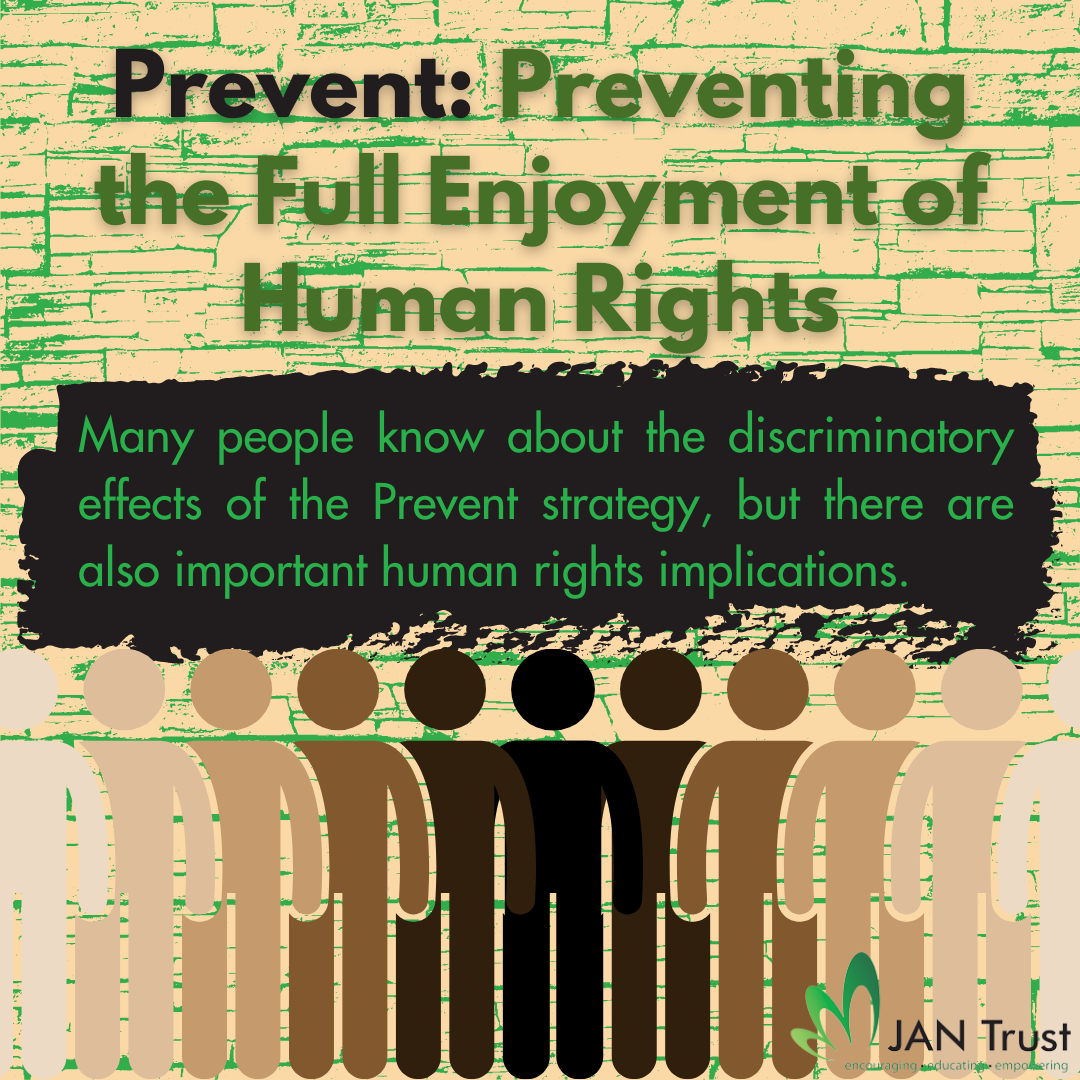 Prevent: preventing the full enjoyment of human rights