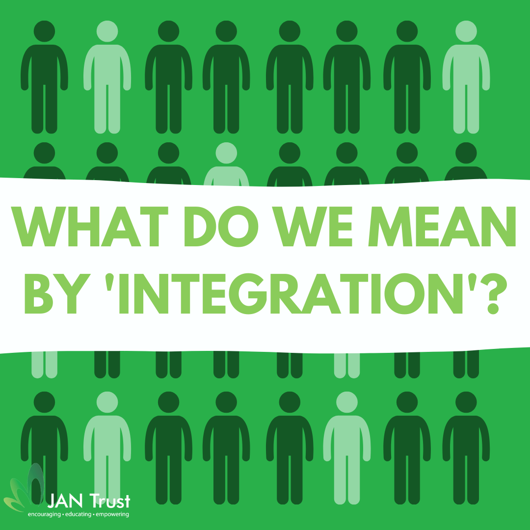 What do we mean by 'integration'?