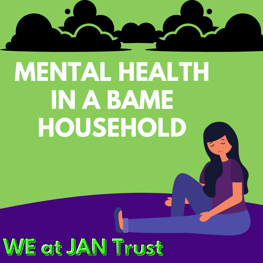 The struggle of having mental health issues within a BAME household