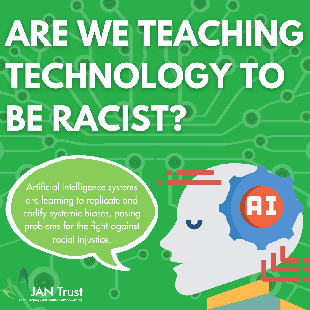 Are we teaching technology to be racist?