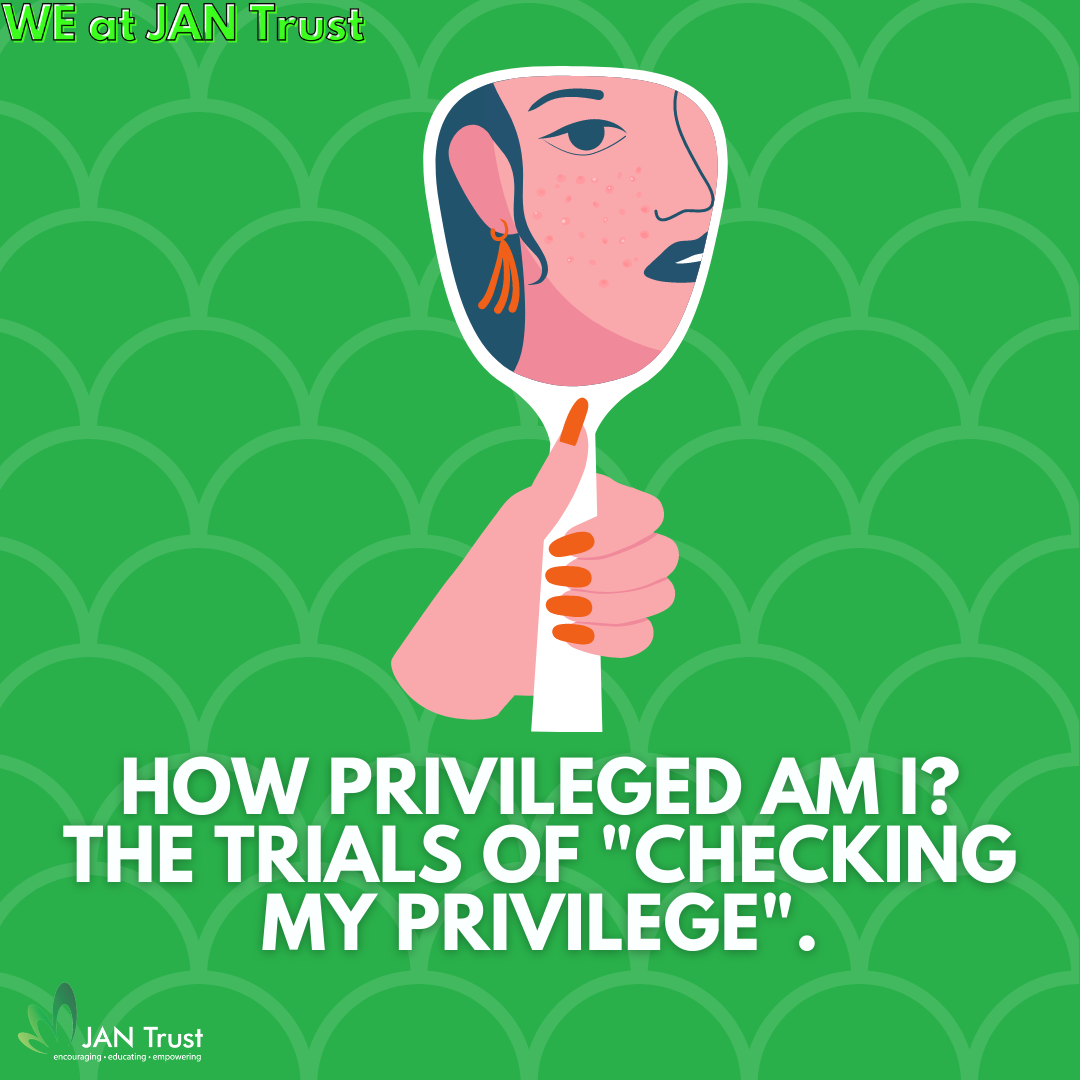 """How privileged am I? The trials of """"checking my privilege""""."""