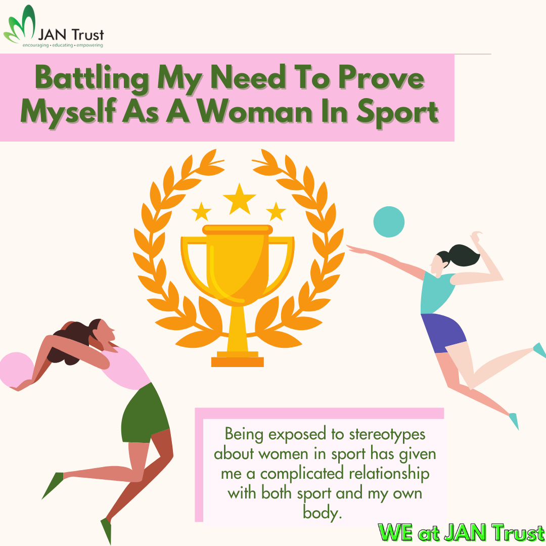 Battling my need to prove myself as a woman in sport